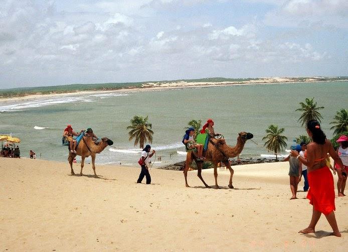 pantai genipabu brazil