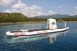 Kapal selam odyssey Submarine di Bali