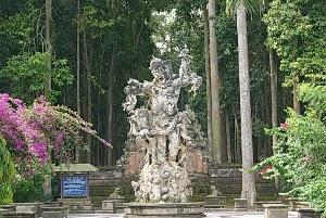 Tempat wisata sangeh di Bali