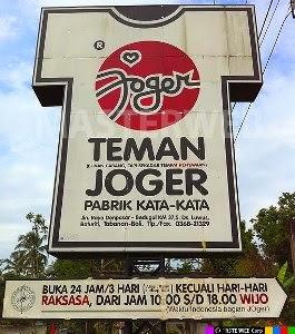 Tempat wisata Bali Joger