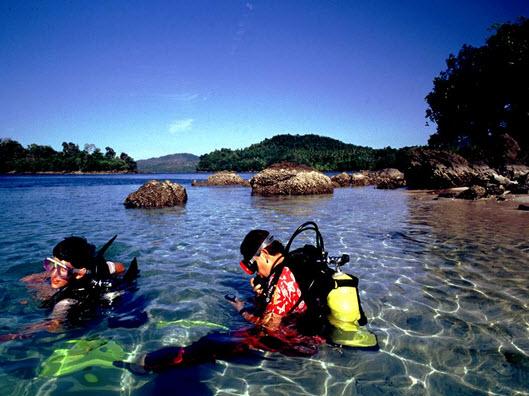Snorkeling dan Diving di Iboih. wisata Sabang