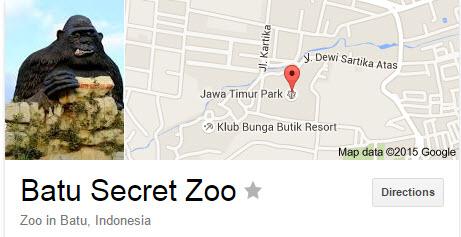 Batu Secret Zoo - Wisata Jatim Park