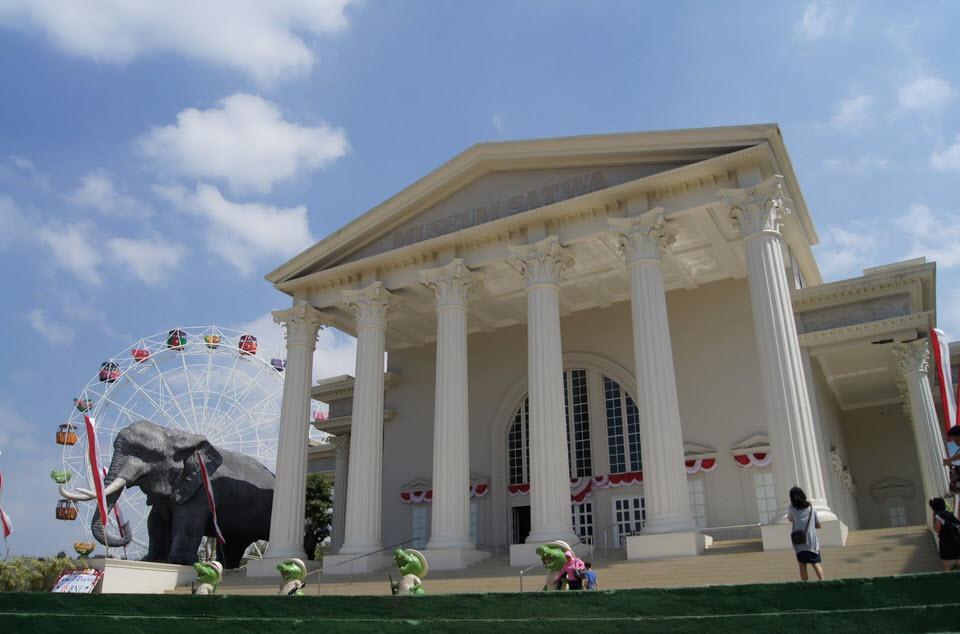 Museum Satwa - WIsata Jatim Park Malang