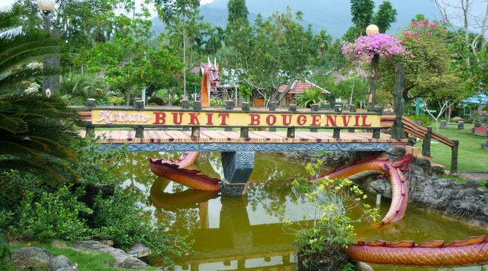 Taman Bukit Bougenville - Wisata Singkawang