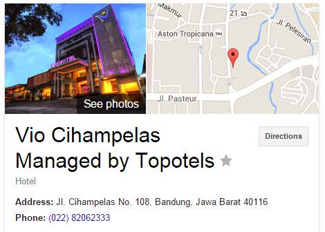 Vio Cihampelas - Penginapan di Bandung yang Bagus dengan harga yang terjangkau