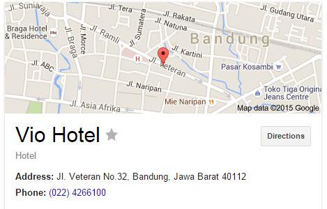 Vio Hotel - Penginapan Murah di Bandung