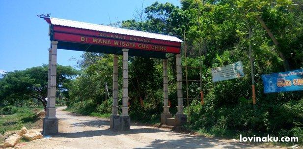 lokasi Wisata Pantai Goa Cina Malang