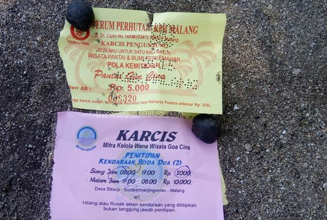 tiket Wisata Pantai Goa Cina Malang