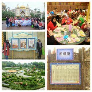 Berbagai aktivitas di taman rekreasi yang Muslim Friendly.