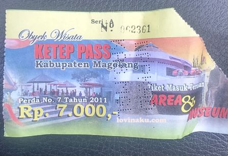 harga tiket masuk ketep pass