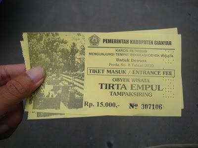 tirta empul ticket