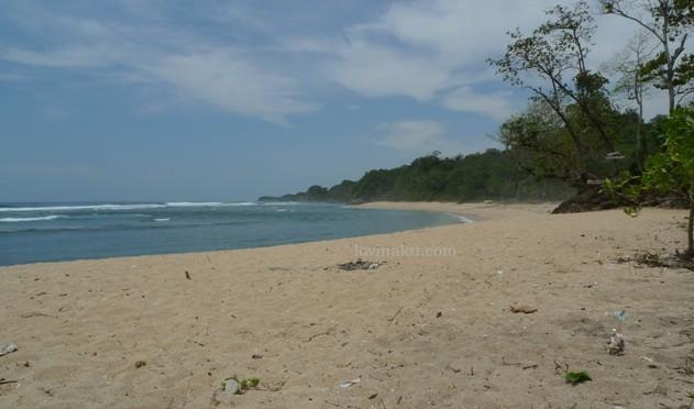 Wisata Pantai Ngliyep Berpasir Putih